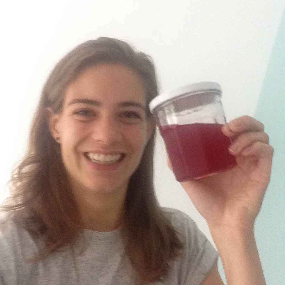 Homemade red currant syrup #7